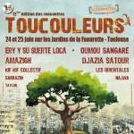 Affiche festival Toucouleurs 2011