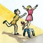 le jeu de la falaise