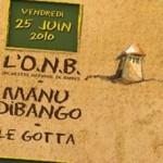 """Carte postale programmation """"Festival Toucouleurs"""" - 2010"""