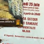 "Flyer recto/verso ""Festival Toucouleurs - 2011"""