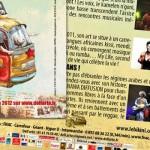 "Flyer recto/verso ""Festival Toucouleurs"" - 2012"