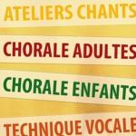 Plaquette information ateliers du cri du choeur - rentrée 2012