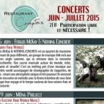 Flyer - Affiche - Programmation Le Comptoir (09) - 2013 - 2014 - 2015